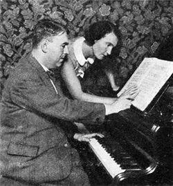 エルヴィン・シュルホフ(左)