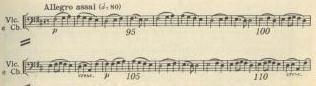 チェロとコントラバスによる「歓喜の主題」
