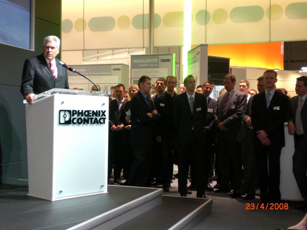 Ansprache Bundesminister Glos auf der HMI in Hannover