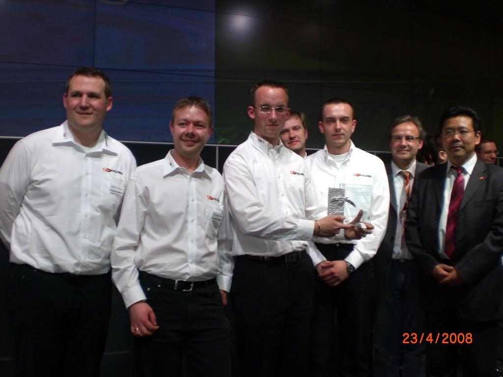 GoBuilding - die Sieger auf der HMI 2008