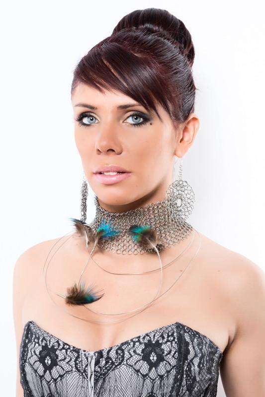 collier de créateur, couture, original