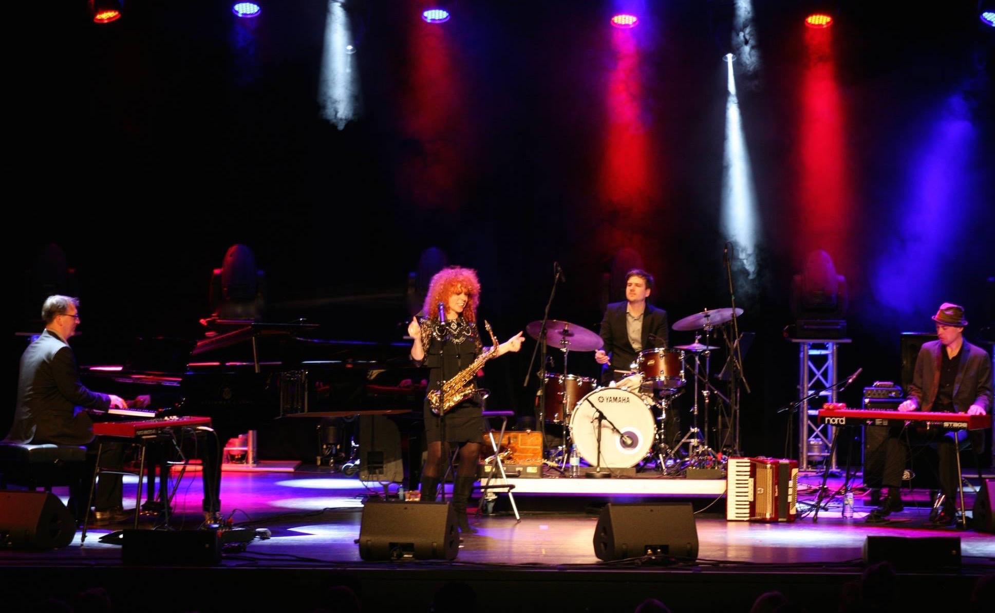Tina Tandler @ Jazzfest Hamm 2016 (Foto: Pavel Konrad)