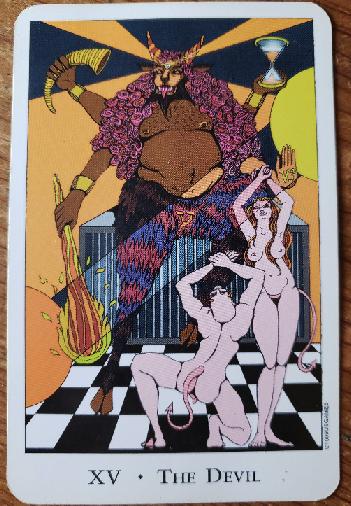 Arcano 15. El Diablo