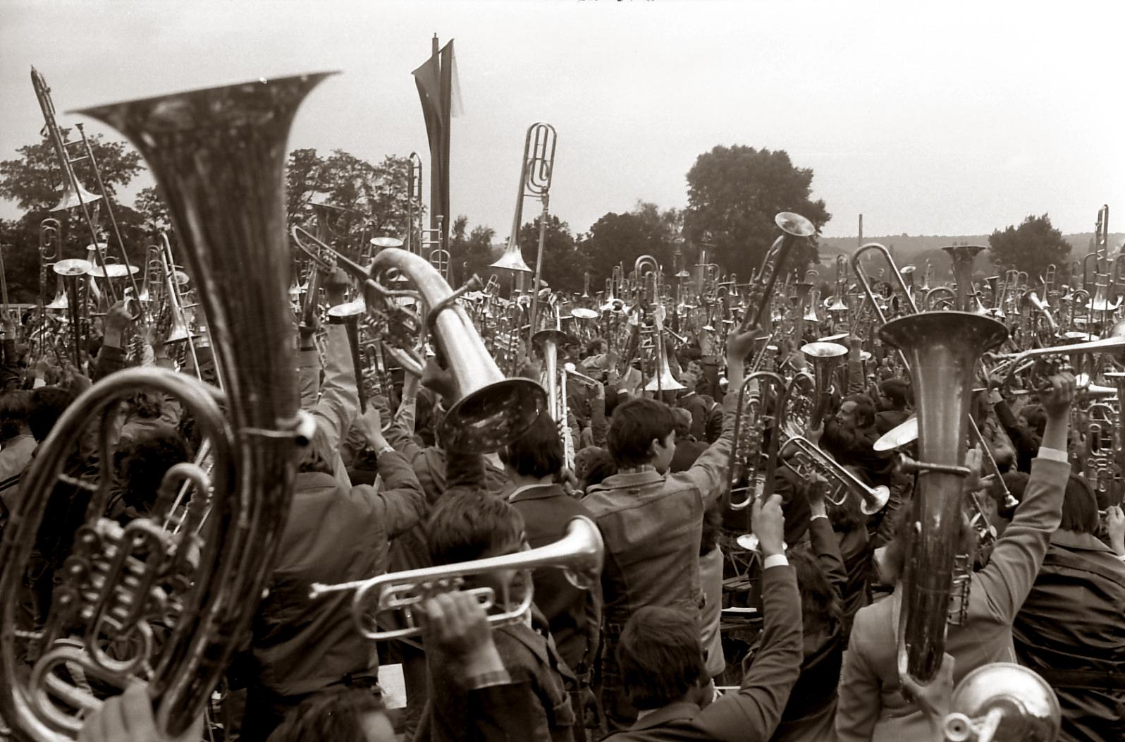 1980: Teilnahme an den Dresdner Bläsertagen