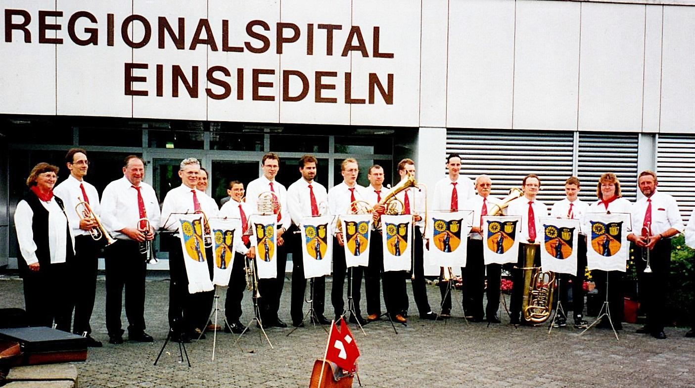 1998: Chorausflug nach EINSIEDELN / Schweiz - und ein Wiedersehen 7 Jahre nach dem Eidgenossenschaftsjubiläum
