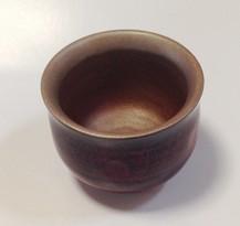 鎌倉彫 ぐい呑み 朱/すず|鎌倉漆工房いいざさ