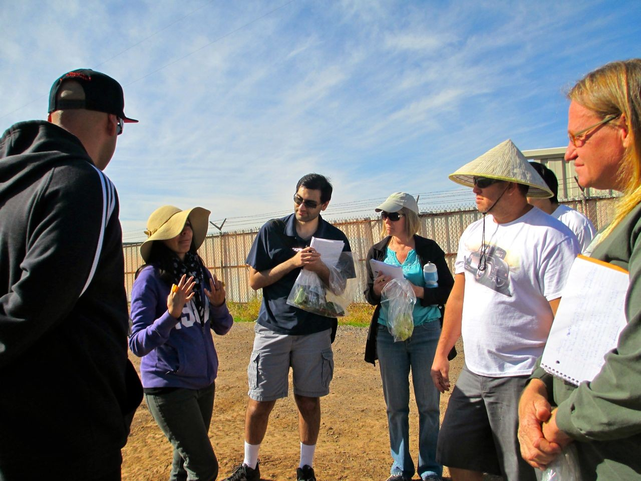 Local Agriculture Lesson, Crooked Sky Farms