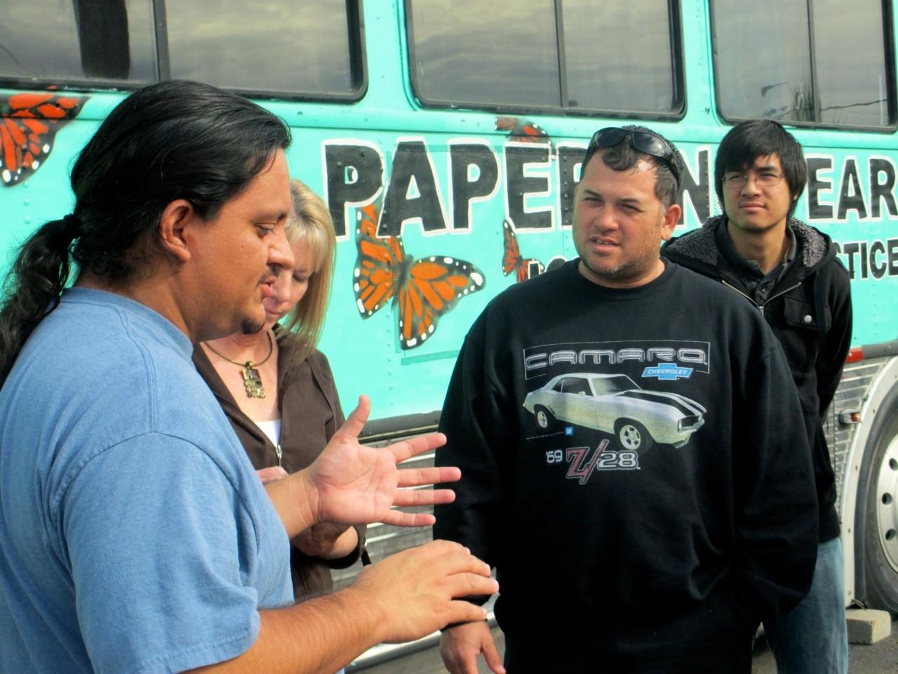 With Carlos Garcia at Puente