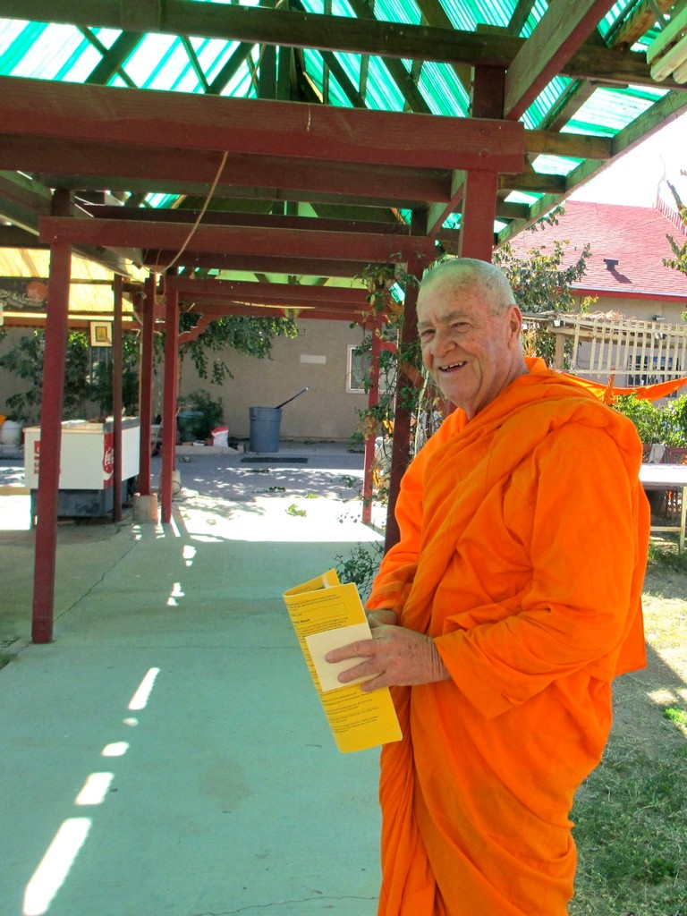 American Abbot Bill at Wat Promkunaram