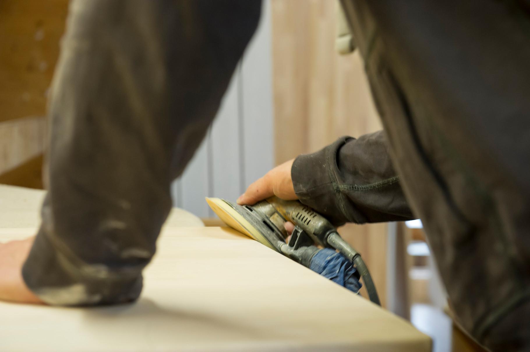 Durch unsere zeitintensive Oberflächenbearbeitung erhalten Sie die beste Qualität.