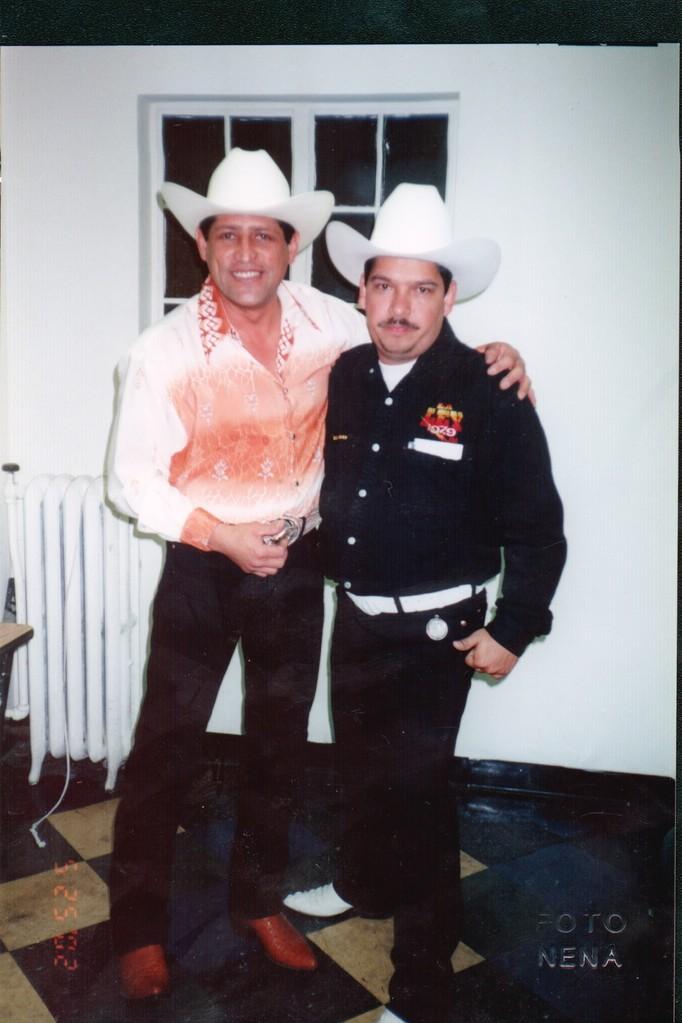 Con Pancho Barraza