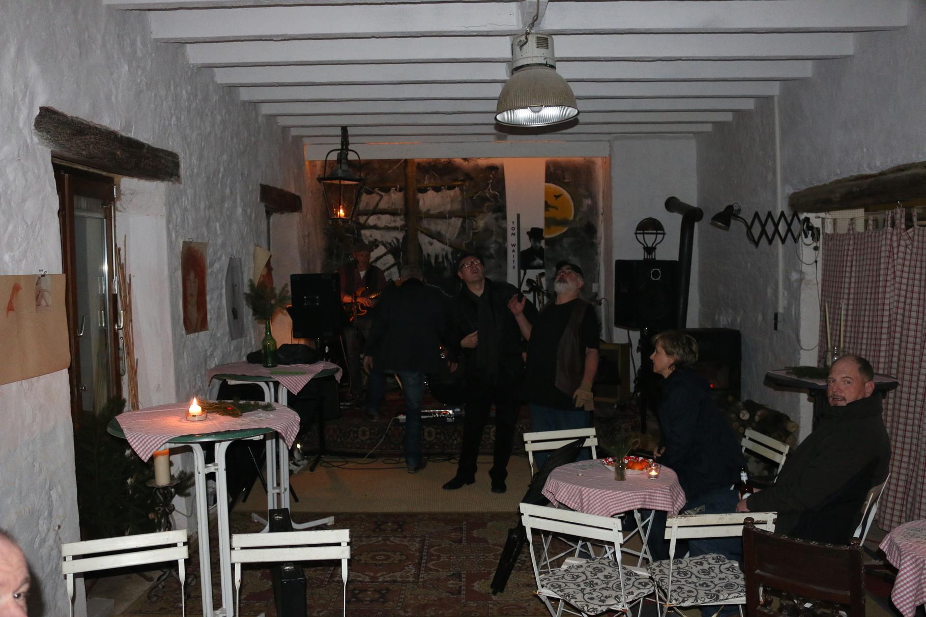 Musiker im Atelier
