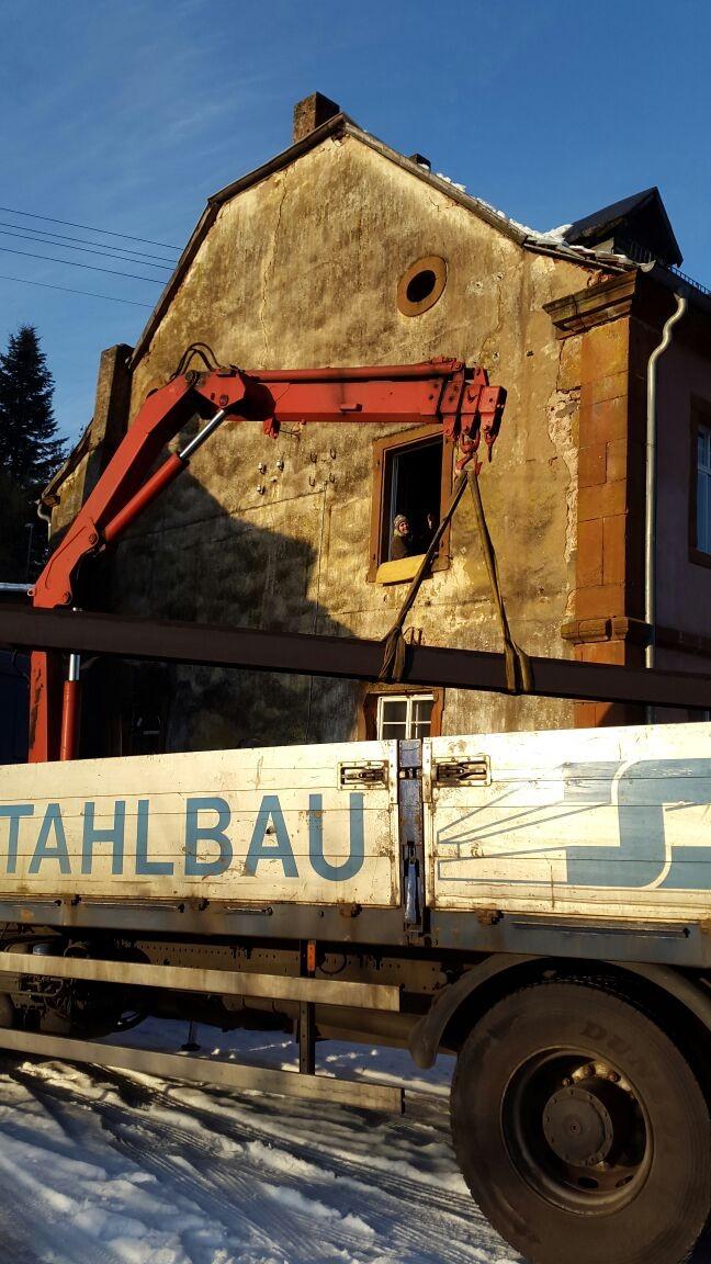 Hebekran von Stahlbau Schäfer
