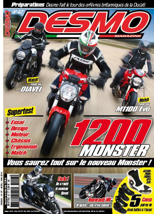 Desmo Magazine N° 67 Avril-Mai 2014 P. 60