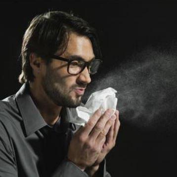 Sneeze-Effekt in der Luft