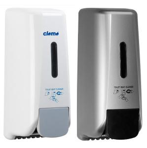 WC-Sitzreiniger, Manuell, weiß, silber