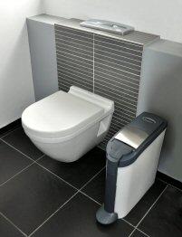 Damenhygienebehälter von clomo Waschraumhygiene