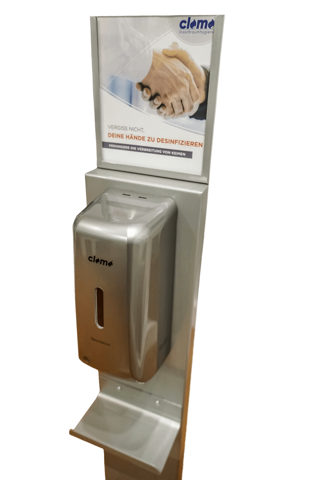 Desinfektionsspender Silver