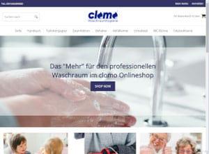 clomo Waschraumhygiene - Onlineshop