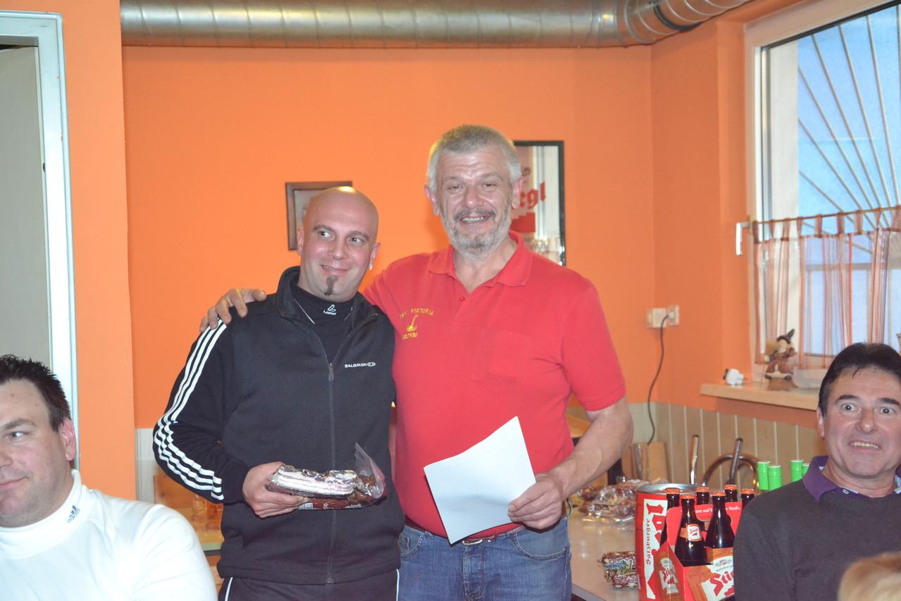 1. Platz Vereinsmeister Männer