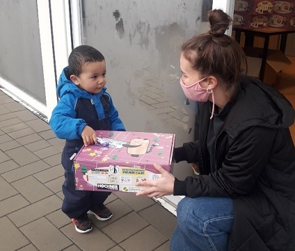 Spendenübergabe in Köln