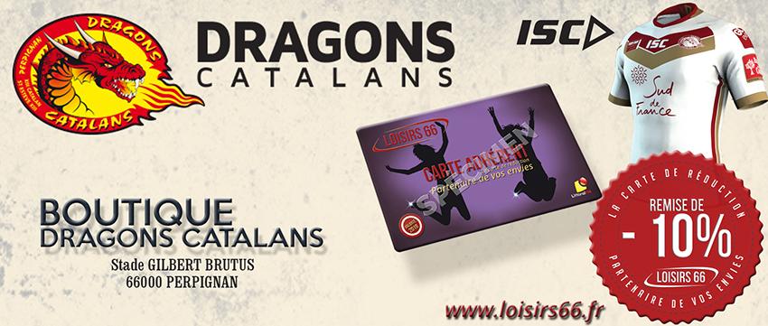 Dragons catalans réduction Loisirs 66