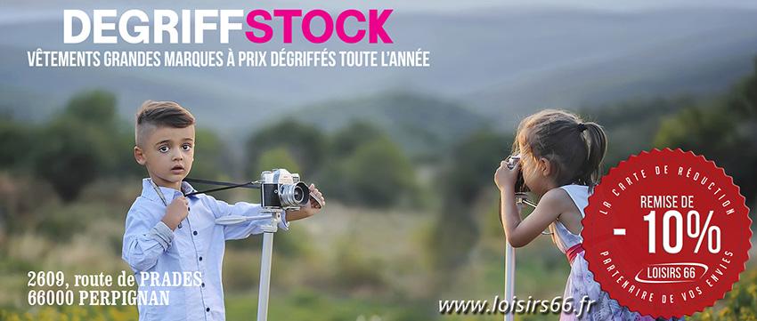 Réductions Degriff stock Perpignan, LOISIRS 66
