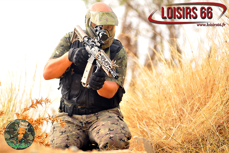 Los Calamares Paintball réduction Loisirs 66