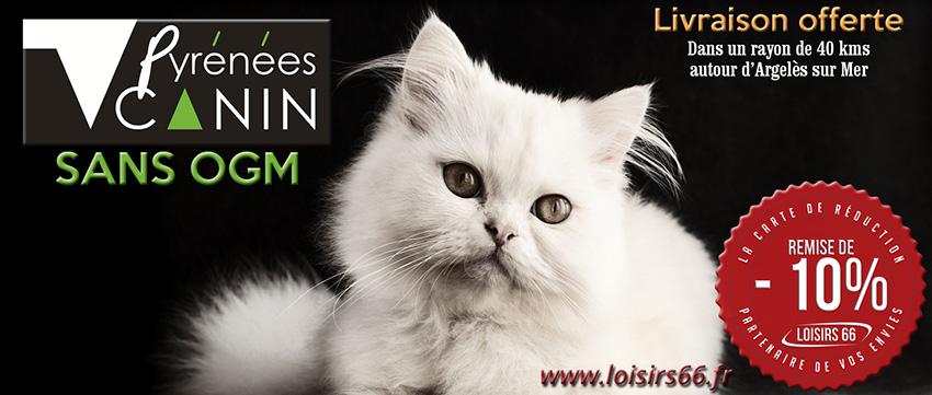 Réduction Pyrénées Canin HL Croquettes Loisirs 66