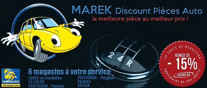 MAREK réduction LOISIRS 66