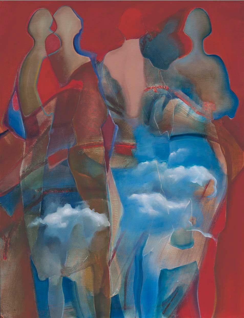 High Society, 2005, 65 x 50 cm, oil on canvas