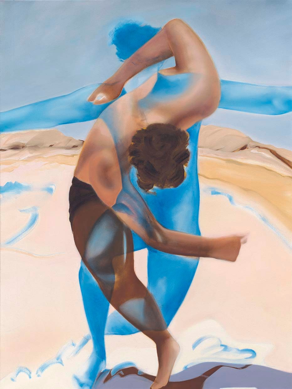 Its Your Dance, 2006, 120 x 90 cm, oil on canvas