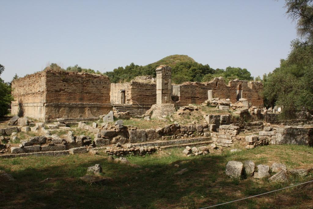 Мастерская где рождалась статуя Зевса