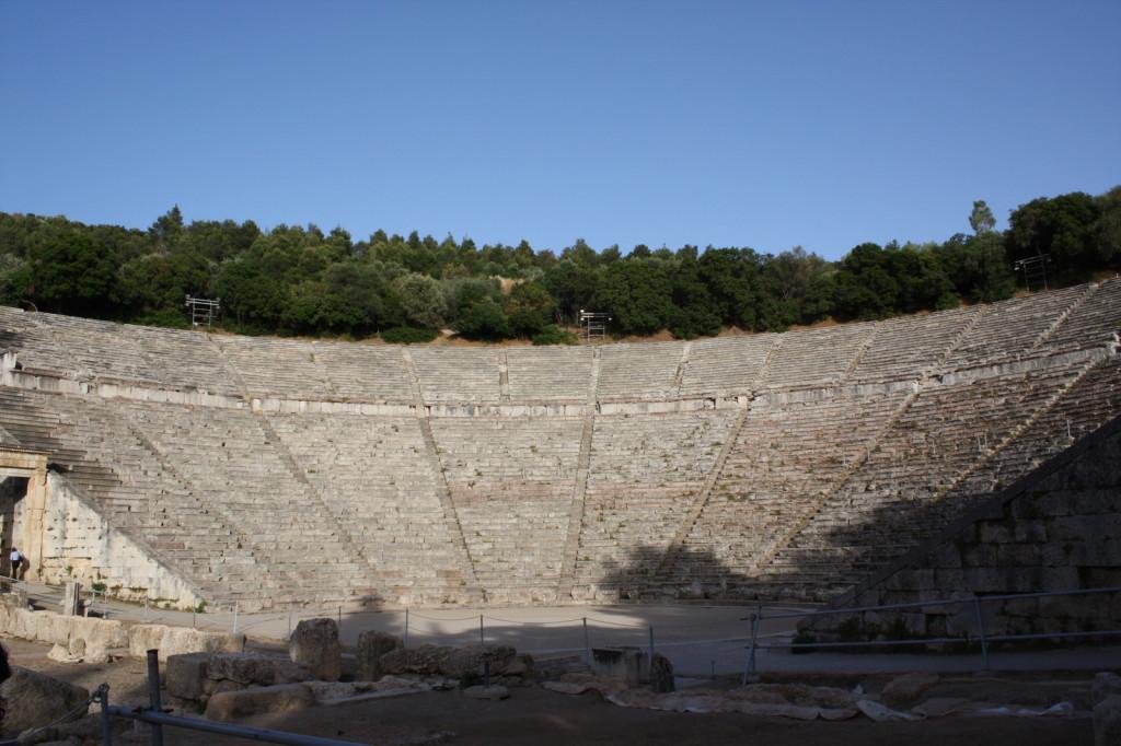 Амфитеатр в Эпидавросе