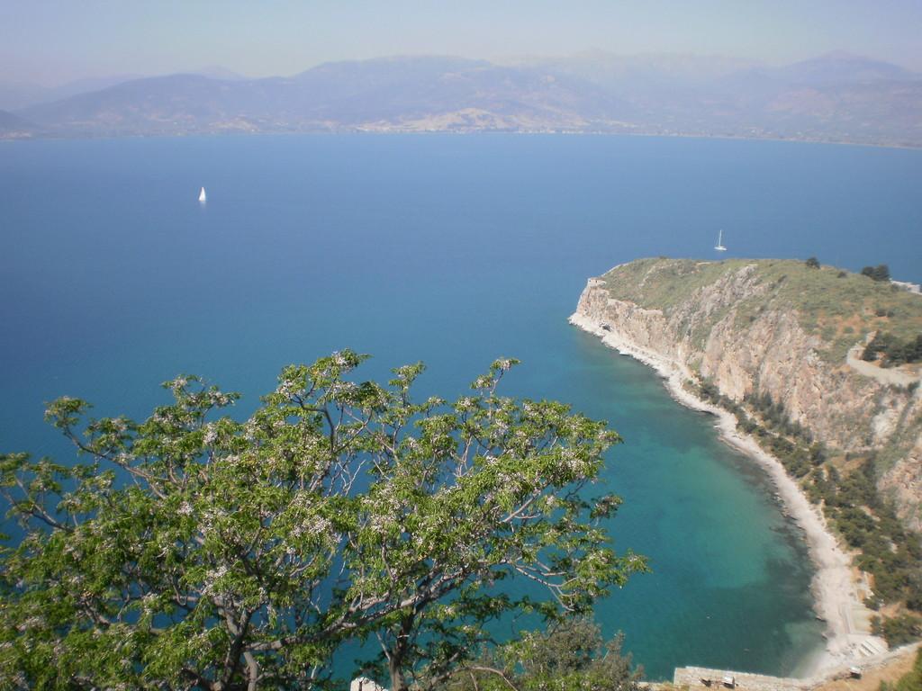 Вид с крепости Паламиди