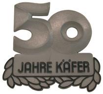 Jubikäfer-Plakette von 1985