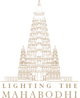 Lighting the Mahabodhi