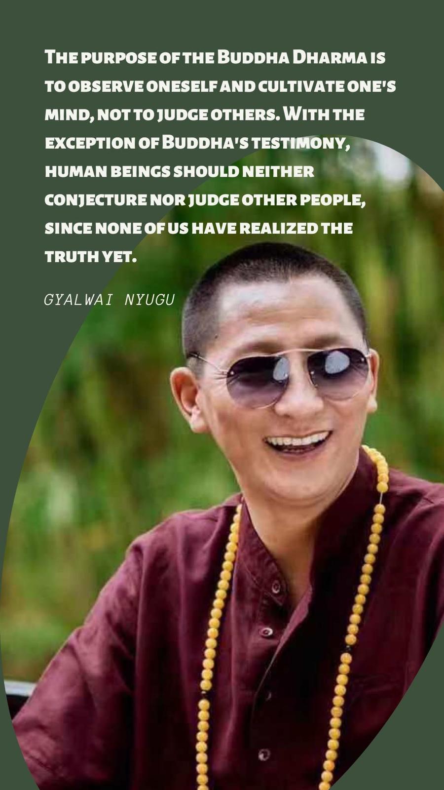 Le témoignage de Bouddha