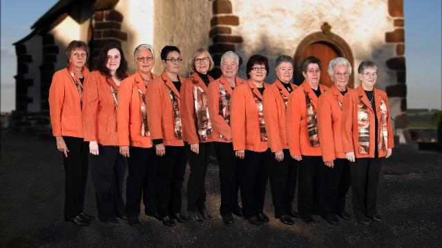 Von links: Annelie Betzer, Daniela Pospich, Doris Thelen, Gertrud Berg, Ulrike Berg, Inge Schaffhausen, Christa Funk, Christa Thomas , Rita Huth, Elisabeth Huth, Annelie Finken