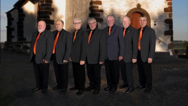 Von links: Alois Hermes, Valentin Etten, Jürgen Berg, Viktor Berg, Adi Schaffhausen, Lorenz Schmitz, Andreas Funk