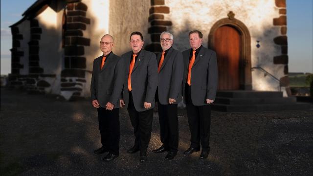 Von links: Karl Thomas, Bernd Thelen, Gerd Knieps, Ludwig Barger