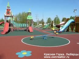 Красная Горка. Детские площадки