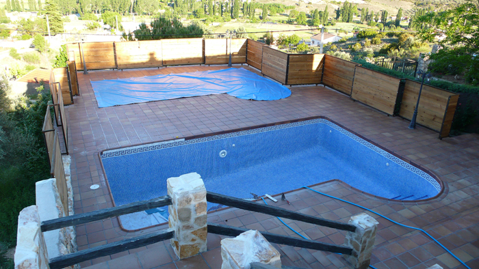 verja de piscina