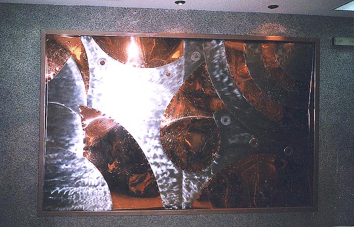 cuadro metalico  singular