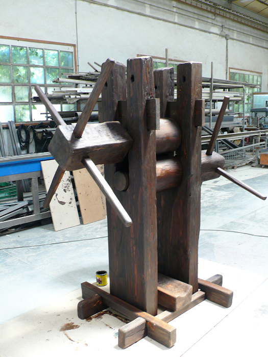 prensa de caña / promocion ron brugal