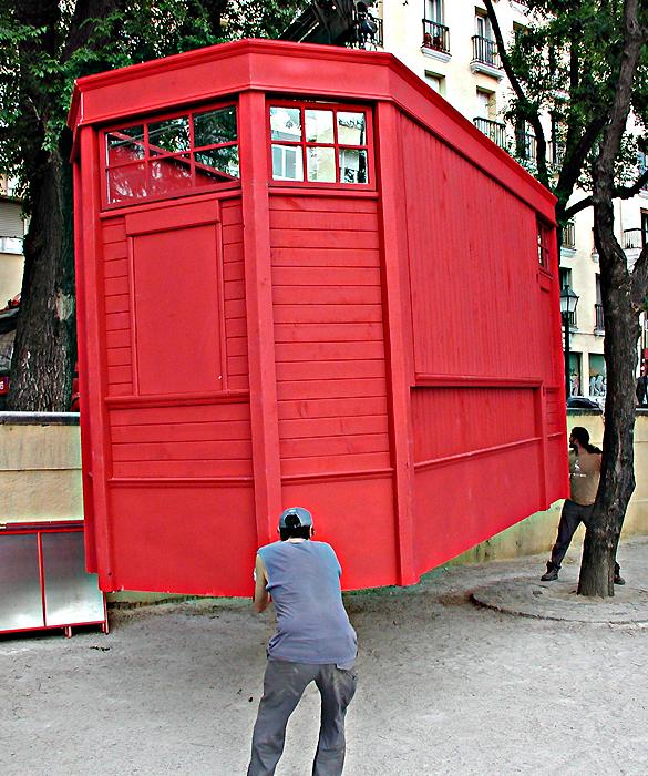 kiosko del aguardiente / verbena de san isidro