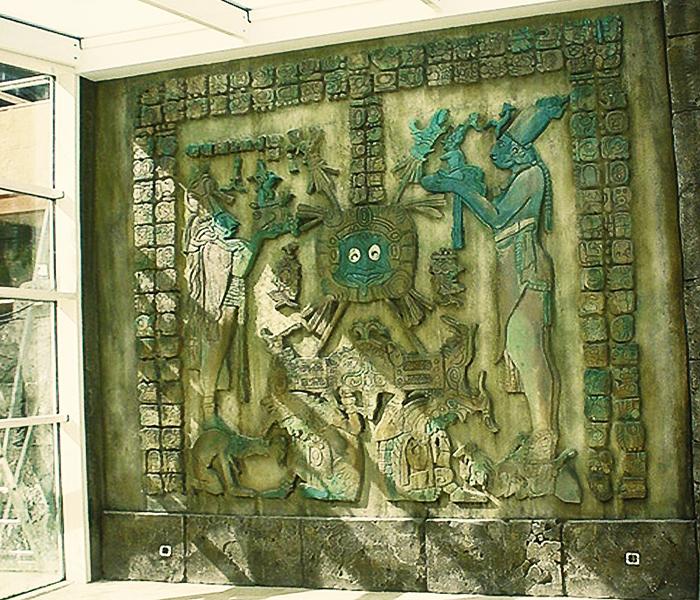 bajorelieve azteca / terra mitica