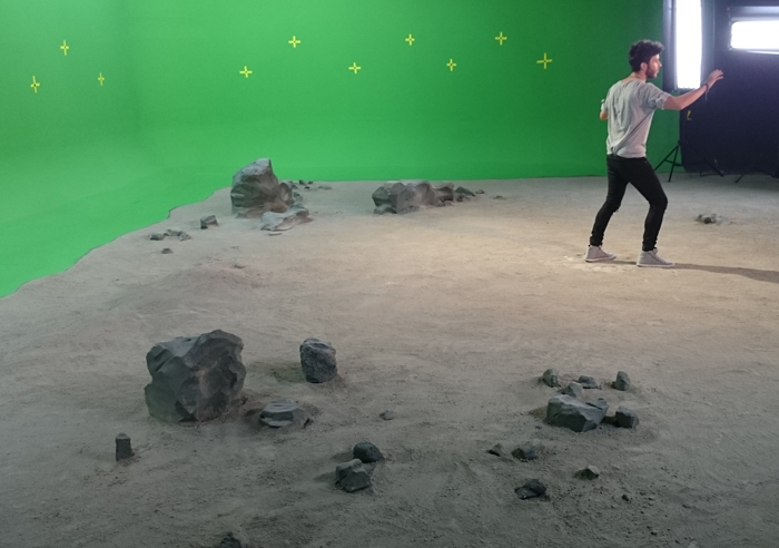 suelo lunar / videoclip grupo airis