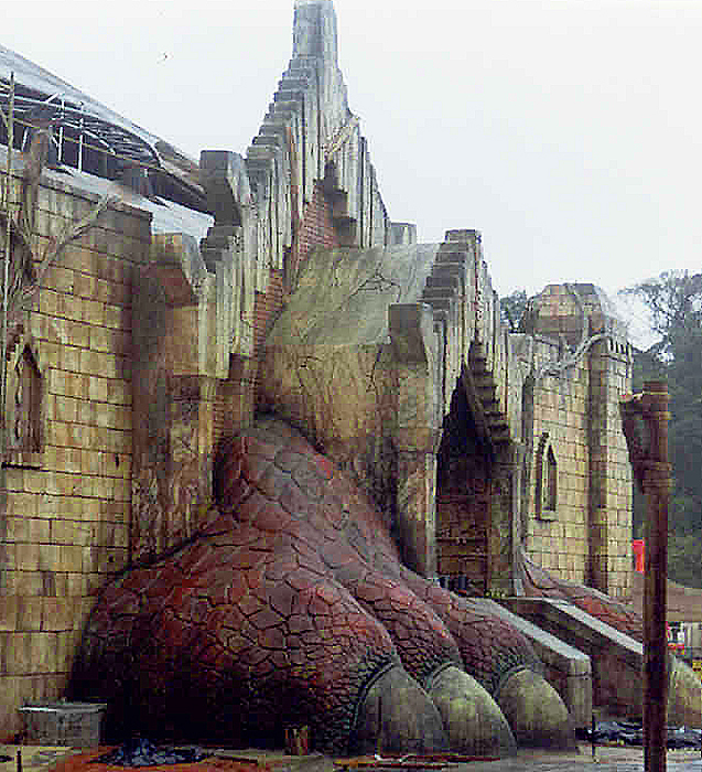 pata de dragon / terra mitica