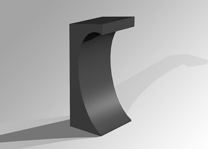modelo de atril